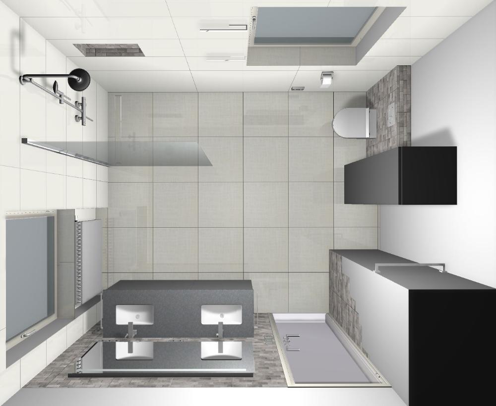 Montageplan Badezimmer Mit Dusche Und Doppelwaschbecken